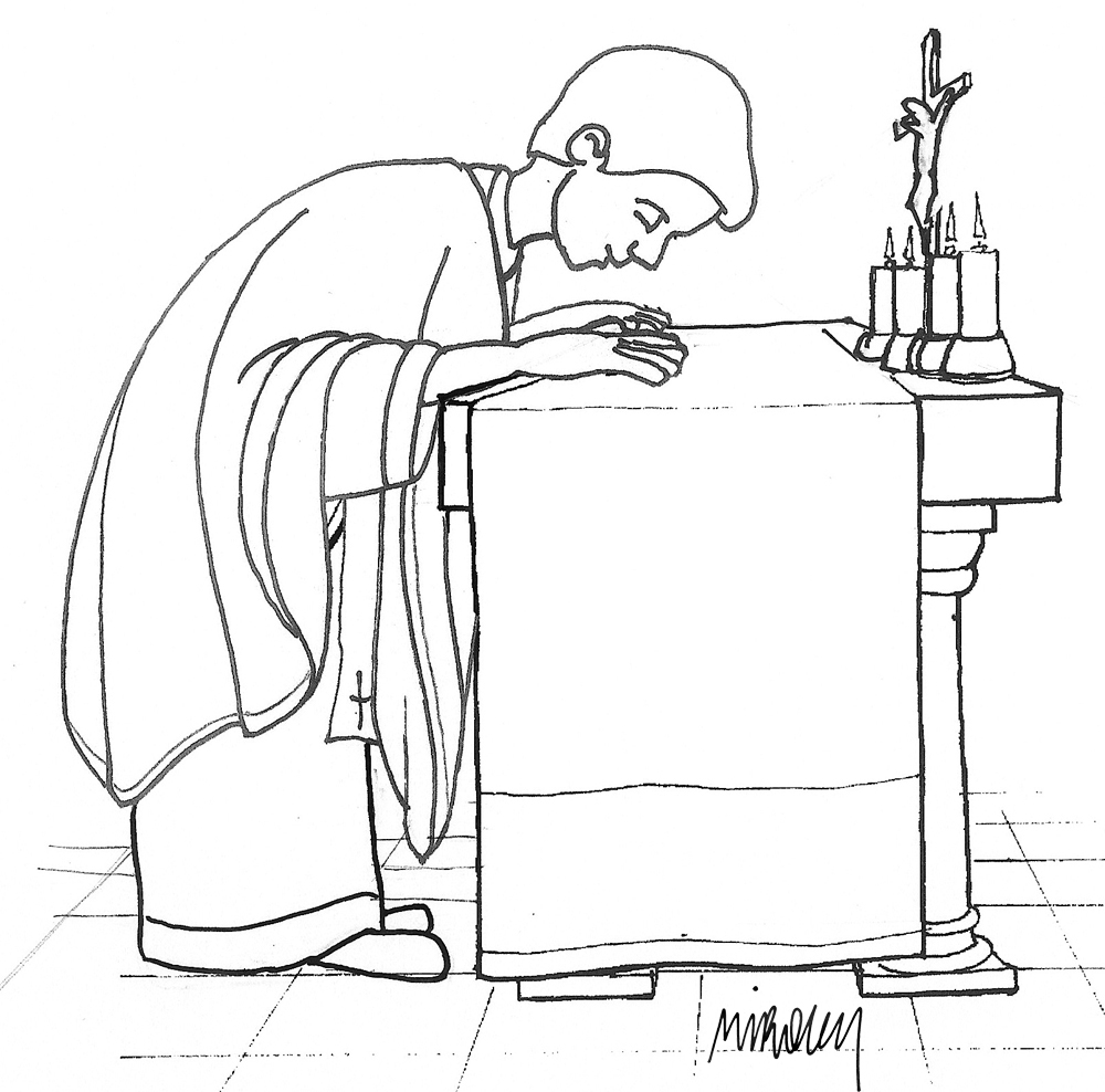 Roman catholic mass coloring pages